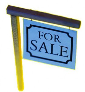 Internet market-For Sale sign