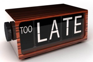 don't be late with your marketing plan