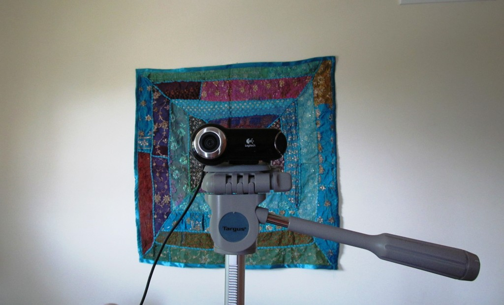 videp-webcam on tripod