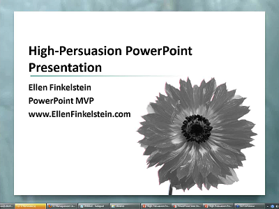 High-Persuasion PowerPoint Presentation Program