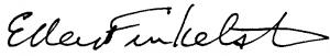 ellen finkelstein signature
