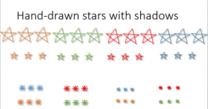 hand-drawn stars bonus