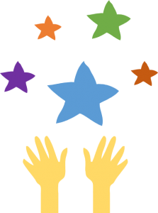 reach the stars logo