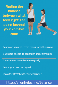 online-business-finding-balance-what-feels-right-going-beyond-comfort-zone
