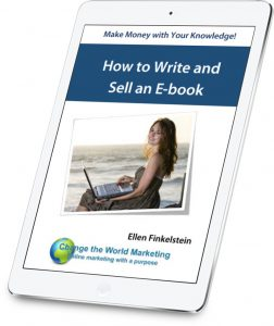 How to Write and Sell an E-Book